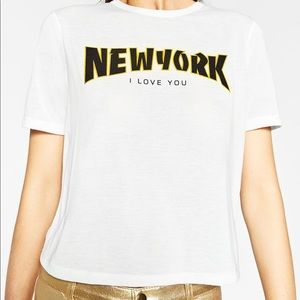 New York I Love You T-Shirt